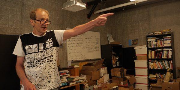 Ben Hodgson im neuen Office von Streetbooks